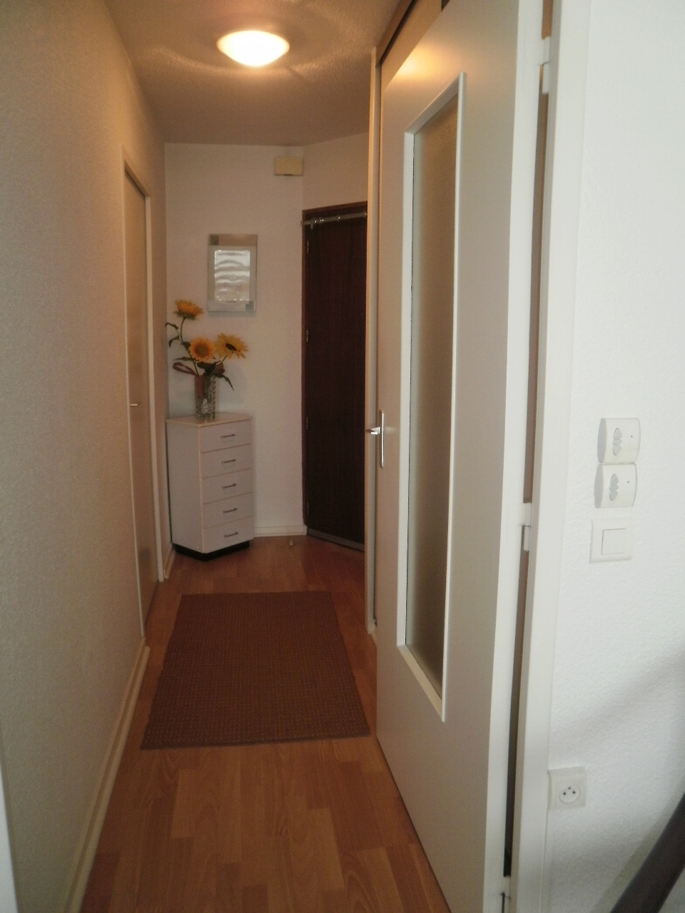 Entrée couloir rangement
